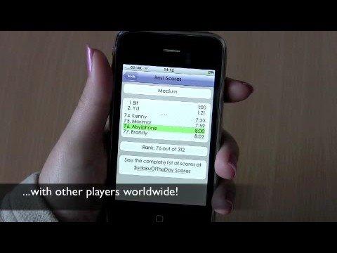 Astraware Sudoku for iPhone™ demo