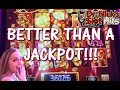 **BETTER THAN A JACKPOT!!!** First Spin at MAX BET on DANCING DRUMS!!!