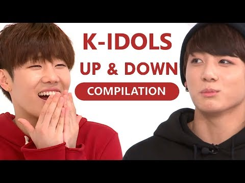 K-IDOLS DANCING TO EXID UP & DOWN (COMPILATION)