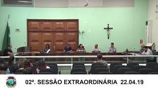 Sessão Extraordinária  22.04.19