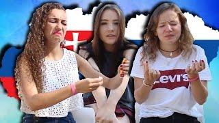 Tasting Slovak Food │Moma, Maddie, Doren