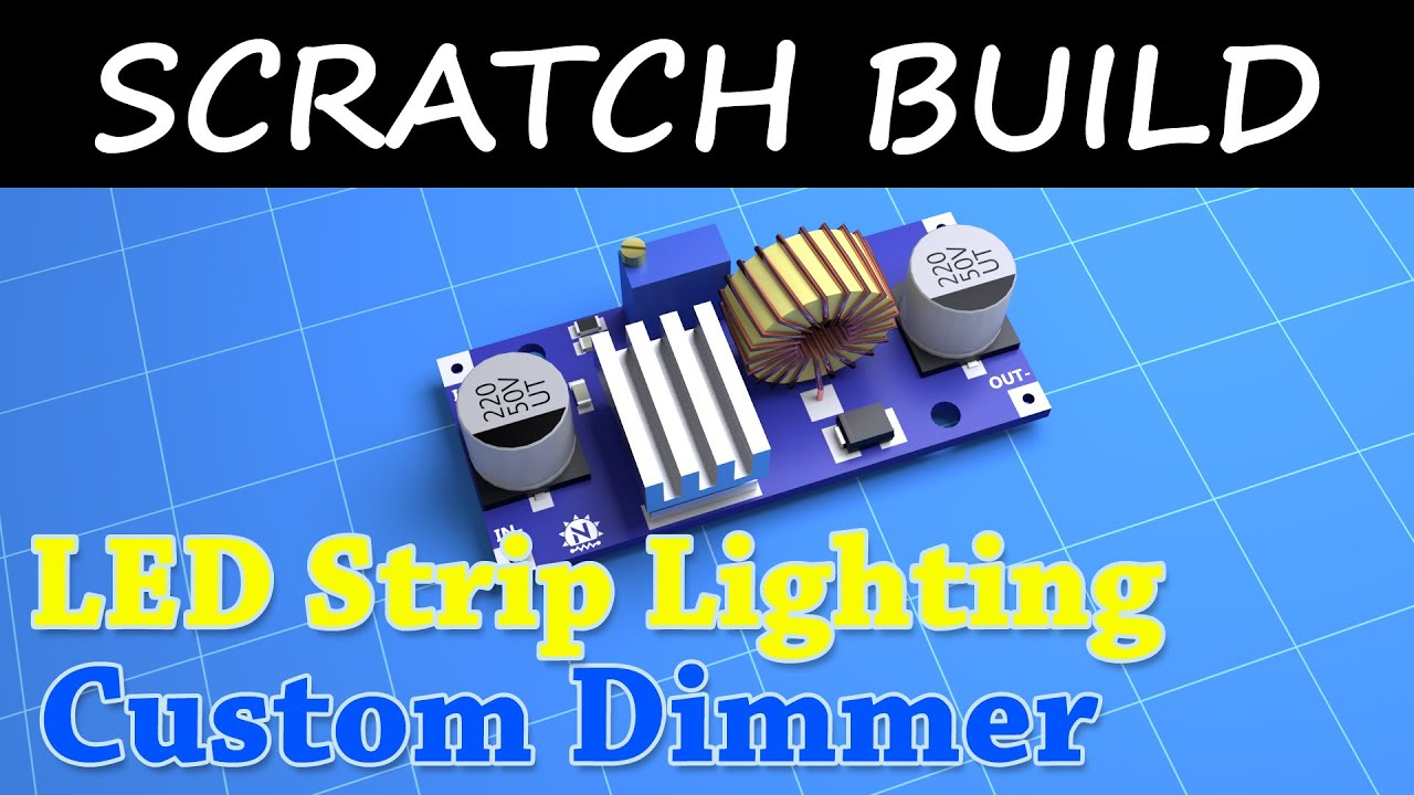 Diy Led Lamp Dimmer Alternate Switching Circuit Using Ic 555 Gadgetronicx Lighting 3d Print Project Blender Render You