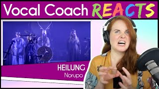 Vocal Coach reacts to Heilung - Norupo (Live)