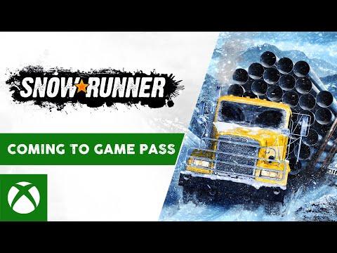 Игра SnowRunner теперь доступна по подписке Xbox Game Pass