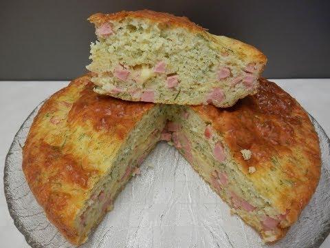Быстрый пирог с сыром и зеленью YouTube