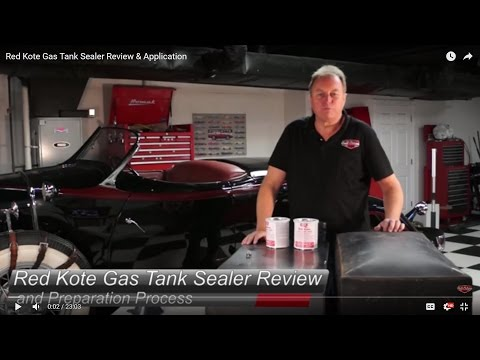 Leaky Gas Tank??? Red Kote Gas Tank Sealer Review & Application