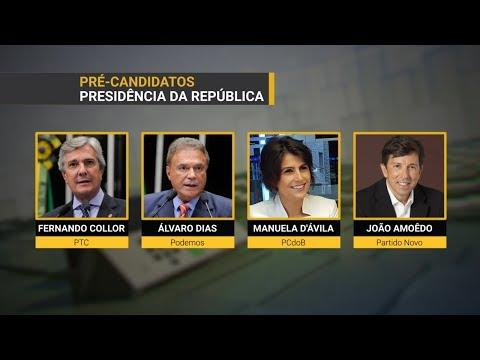 Conheça os pré-candidatos que devem disputar as eleições em outubro | SBT Notícias (10/03/18)