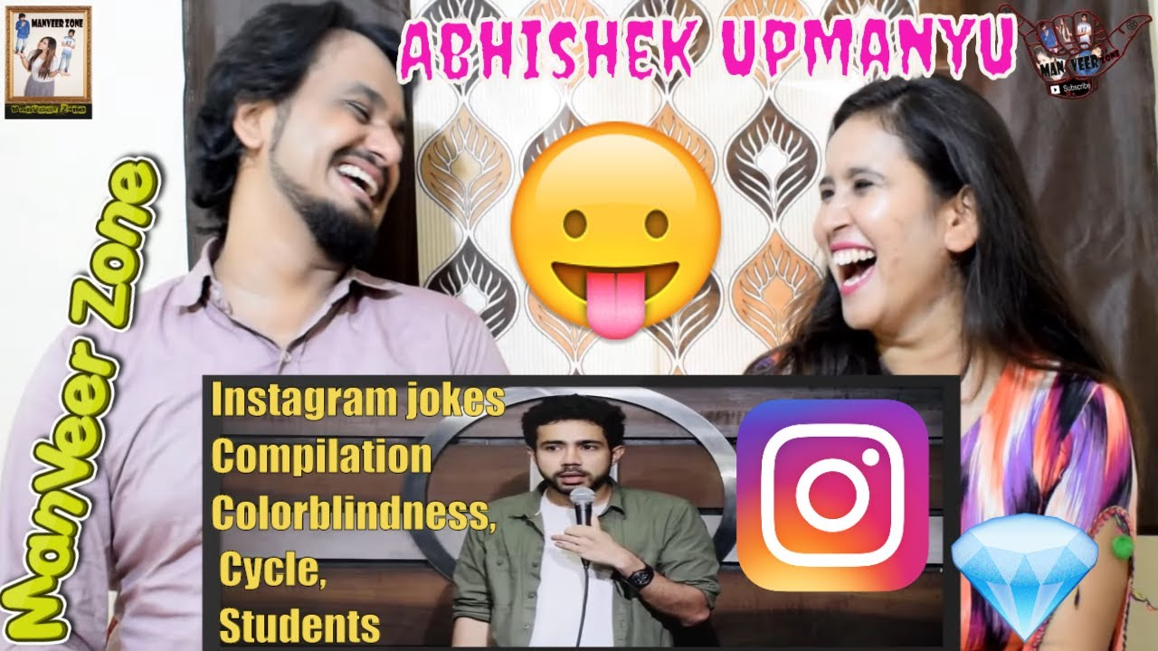 Download Instagram jokes Compilation Colorblindness, Cycle, Students || @Abhishek Upmanyu || Indian Reaction
