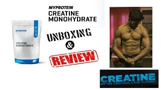 Myprotein Creatine Monohydrate | Unboxing & Review | Myths about creatine and its reality