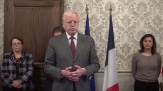 Cérémonie citoyenne - Édition 2017 - Hôtel de Ville d'Avallon (89)