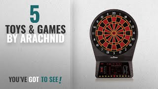 Top 10 Arachnid Toys & Games [2018]: Arachnid Cricket Pro 800 Electronic Dartboard