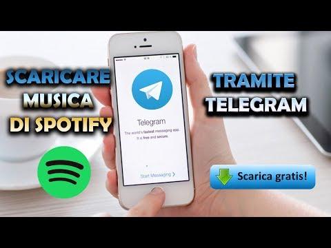 SCARICARE MUSICA TRAMITE TELEGRAM SU QUALSIASI DISPOSITIVO