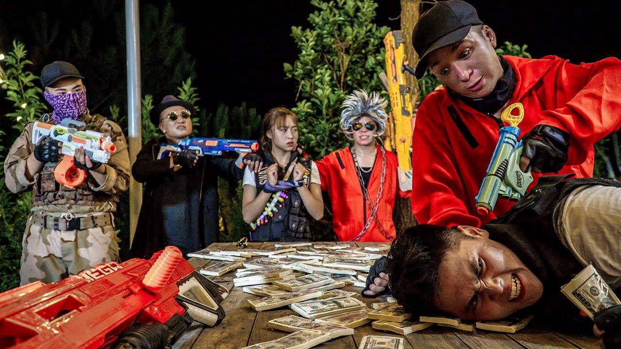 LTT Nerf War : Captain SEAL X Warriors Nerf Guns Fight Dr.Lee Crazy Teammate Ambush
