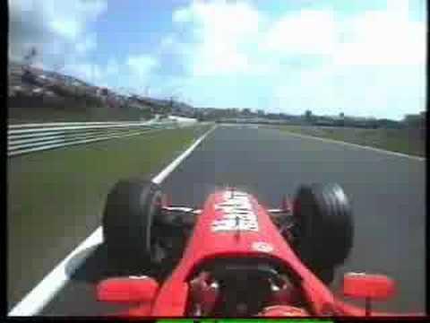 formula 1 Michael Schumacher Onboard Lap - Hungaroring 2002