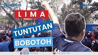 #BandungMelawan, Bobotoh Persib Aksi Sampaikan 5 Tuntuan ke PSSI