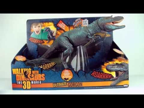 Ultimate Gorgan Gorgosaurus toy unboxing, Walking with Dinosaurs