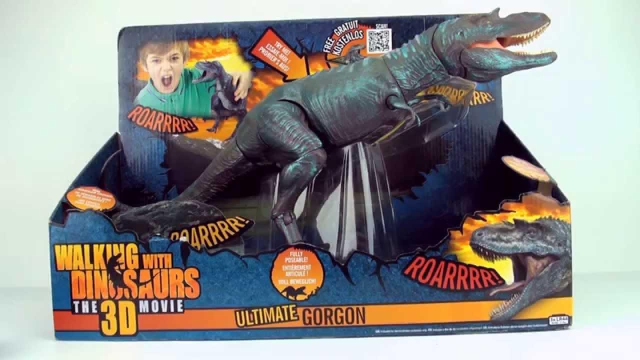 Walking With Dinosaurs 3d Toys Gorgon Ultimate Gorgan Gorgos...