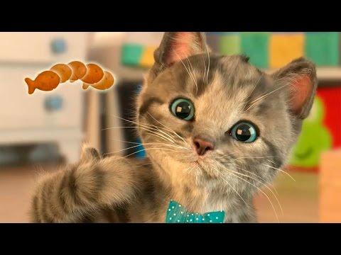 ❤Мимишный МАЛЕНЬКИЙ КОТЕНОК😻 Мультик про котят Развлекательное видео Для малышей Симулятор кота
