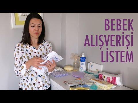 Yenidoğan Bebek ve Anne Alışveriş Listesi | Acemi Anne
