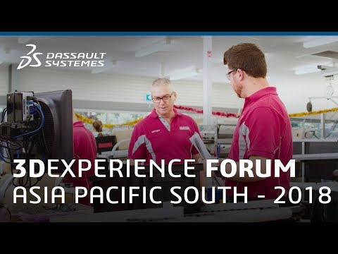 3DEXPERIENCE FORUM Asia Pacific South 2018 - Virtual Shipyard - Dassault Systèmes