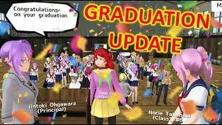 [School Girls Simulator] NEW GRADUATION CEREMONY [UPDATE 10.05.2019]
