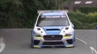 Subaru Isle of Man TT 2016 New Record by Mark Higgins - WRX STI destroys the streets