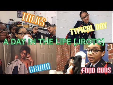 A Day In The Life [JROTC] +GRWM// ZONE6PRINXESS