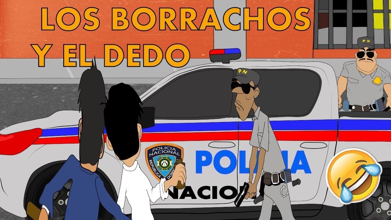 LOS BORRACHOS Y EL DEDO  l Silverio animation