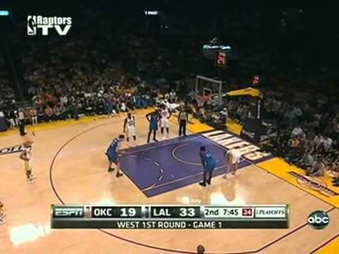 2010 NBA Playoffs Los Angeles Lakers Vs Oklahoma City Thunder Game 1 Part 4