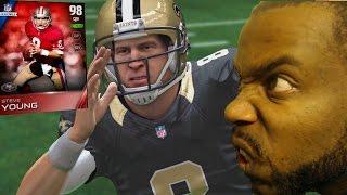 Madden NFL 15-MUT- Steve Young Debut! Steve 99 Bo Jackson Destruction! Funny Mut Gameplay!