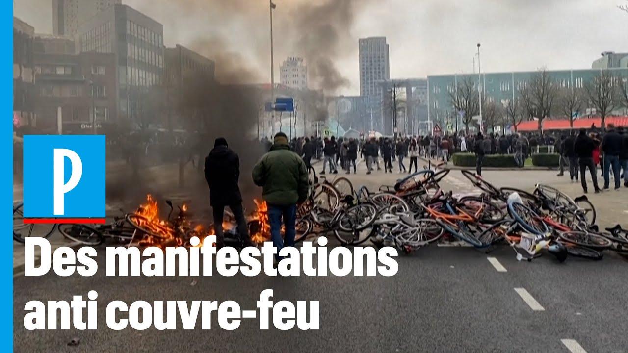 Pays-Bas : des heurts lors de rassemblements contre le couvre-feu