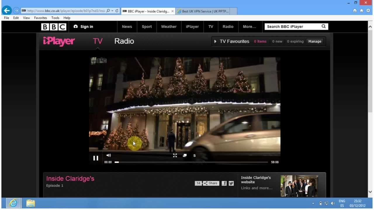 how to play iplayer outside uk