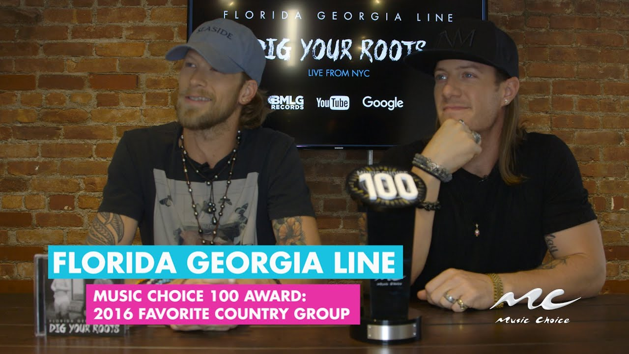 Music Choice Moment: FGL is Favorite Country Group 2016