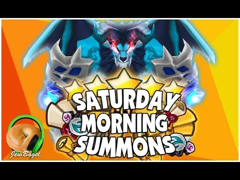 SUMMONERS WAR : SATURDAY MORNING SUMMONS! 500+ Mystical, LD, Legendary Scrolls and more! (3/24/18)