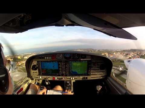 DA42-VI IFR Cascais to Biarritz to Cannes, Part I
