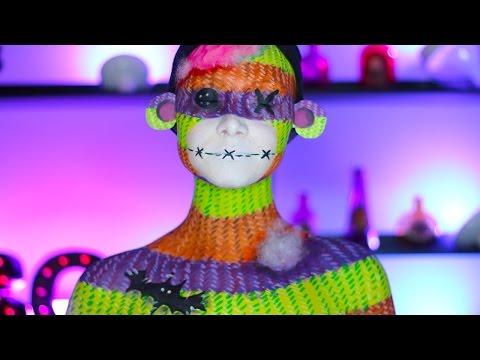 Halloween Sock Monkey Makeup Tutorial (CC)