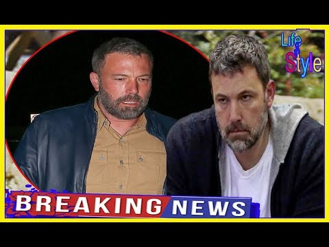 "BEN Affleck was in ""bad shape"". He has barely been ""eating and has not showered"".!"