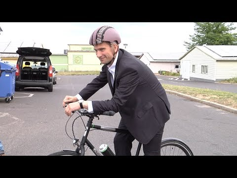 Verkehrsminister Fährt Auf Pendix E-Antrieb Ab