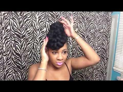 3 Quick Updos Using Braiding Hair