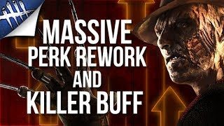 Dead by Daylight - Massive Perk Rework and Killer buff