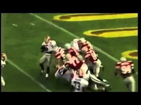 Garrison Hearst TD run vs Ohio St 1994