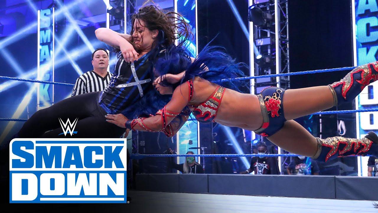 Download Alexa Bliss & Nikki Cross vs. Bayley & Sasha Banks: SmackDown, July 10, 2020
