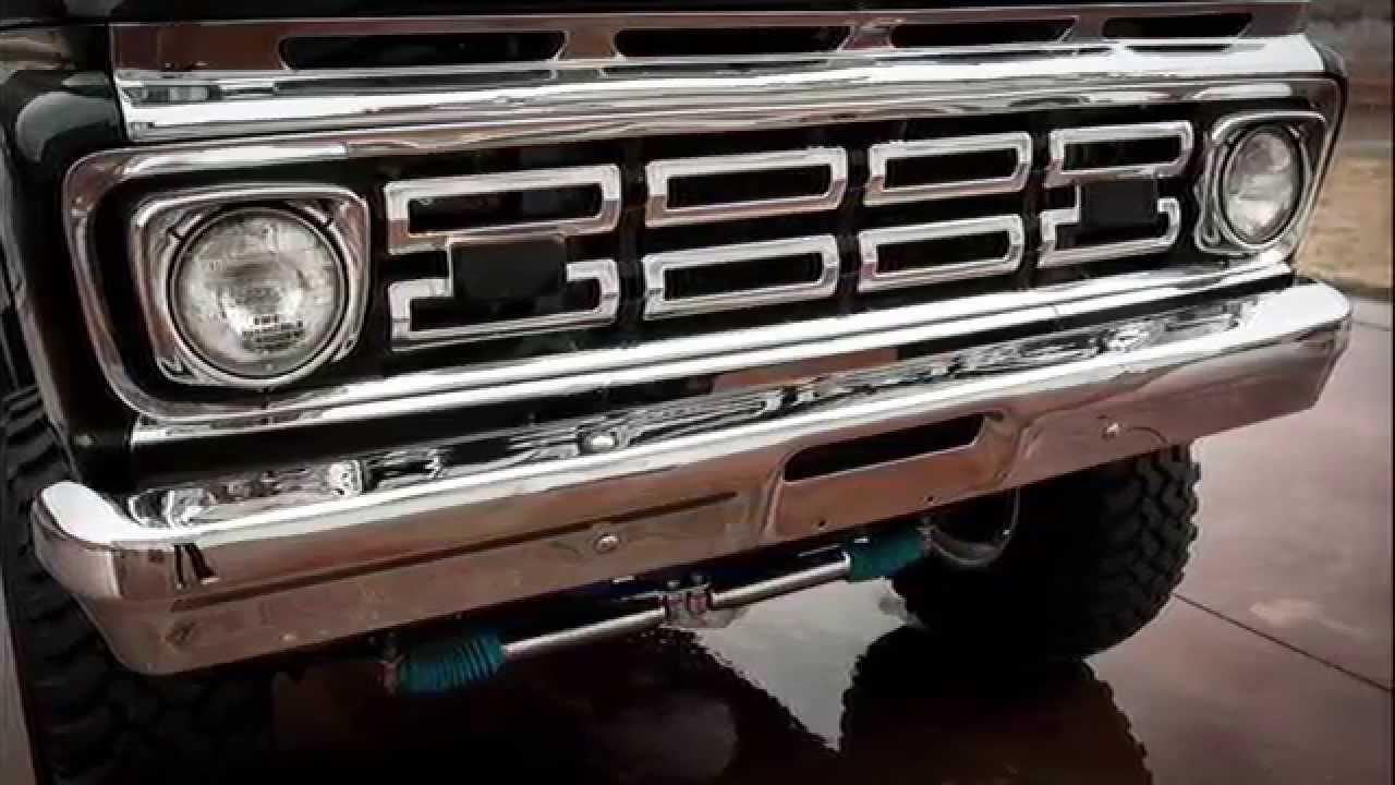 1963 Ford F100 4WD Highboy - 428 Cobra Jet - $45K Frame Off Restoration - YouTube