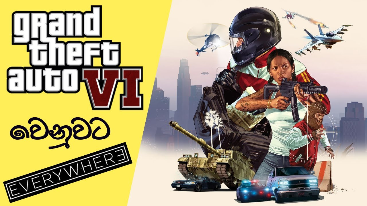 Can We Compare 'Everywhere' with GTA 6?   Everywhere Game Preview (2021) (Sinhala)