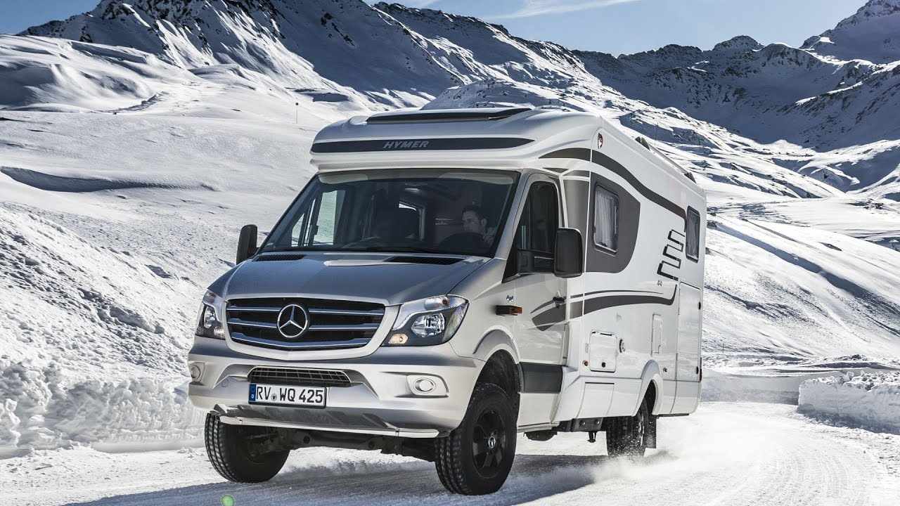 Mercede-Benz Hymer ML-T Sprinter 10x10 - Winter Camping