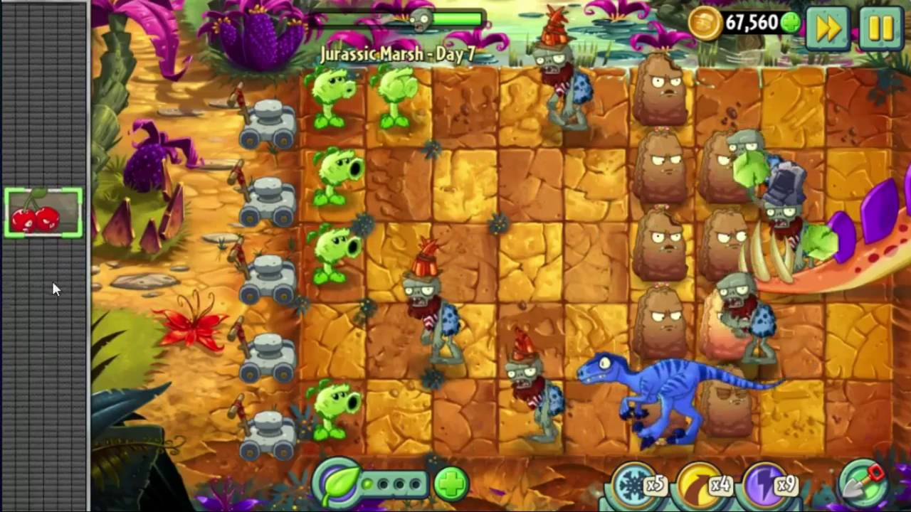 Plants Vs  Zombies 2 [111]: Don't Drive Angry