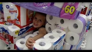 The Toilet Paper Fort Challenge