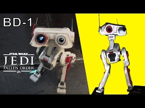 Building BD1 - Jedi Fallen Order Droid (Star Wars DIY)