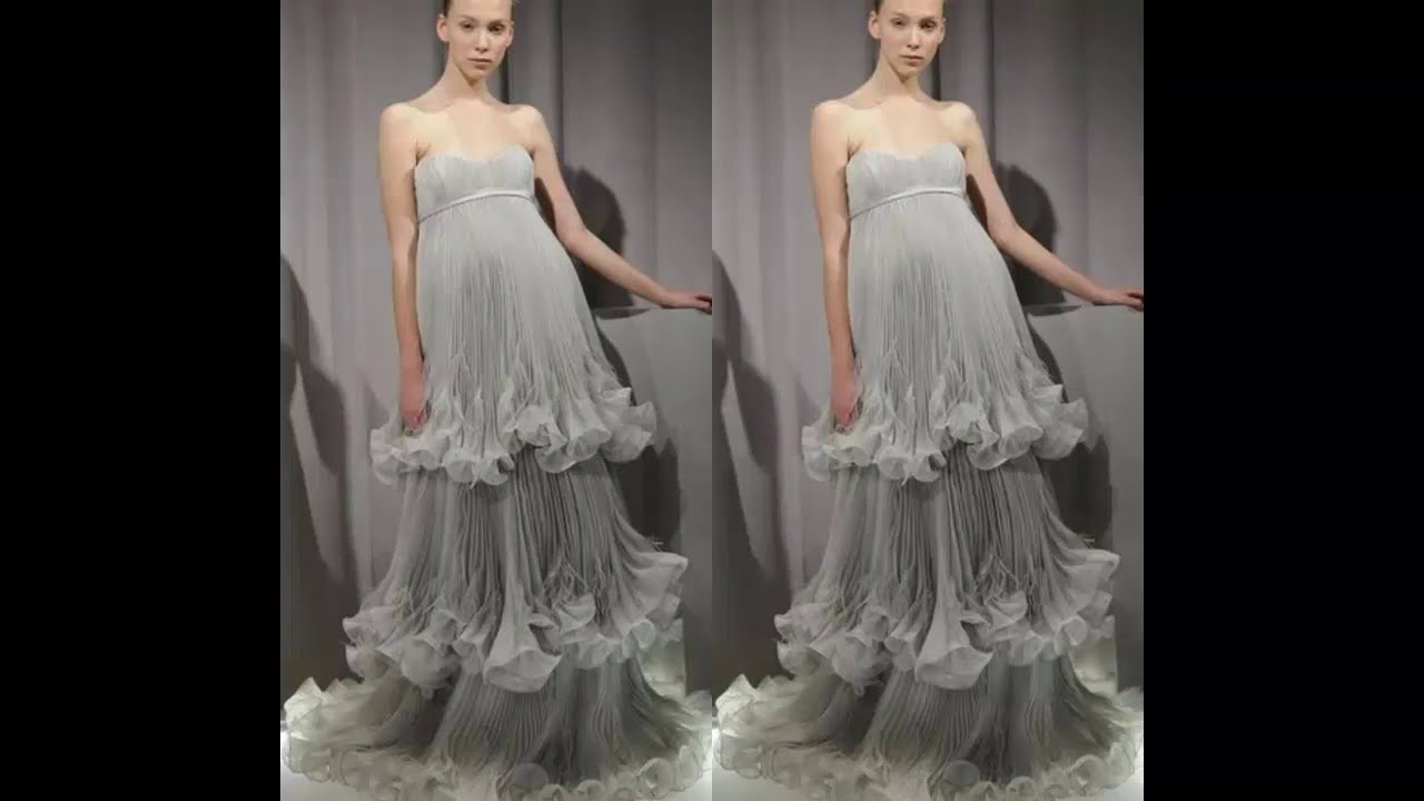 97447ed8d  فساتين سهرة للحوامل | Evening dresses for pregnant women - YouTube