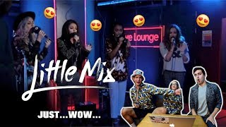 Little Mix - Holy Grail/Counting Stars/Smells Like Teen Spirit in the Live Lounge (REACTION)